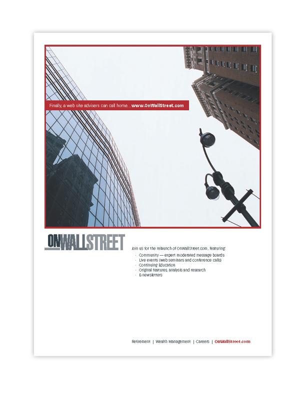 On Wall Street Magazine Ad